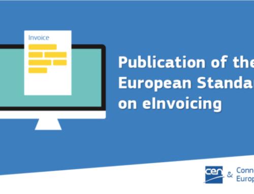 Ny europeisk standard for elektronisk fakturering går til implementering