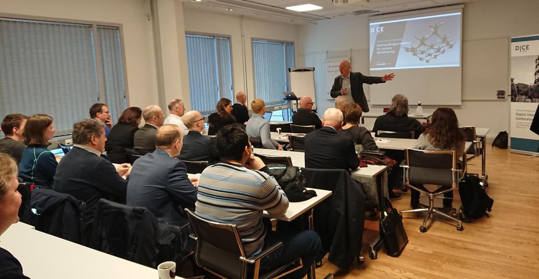 Presentasjoner – Samhandlings-arkitektur